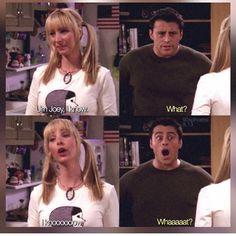 [p: I knowwwwwww [j: knowwww whaaattttt? Serie Friends, Friends Episodes, Friends Moments, Friends Tv Show, Friends Forever, Joey Friends, Funny Friends, Funny Moments, Best Tv Shows