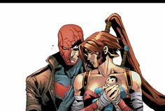 It's sad because Jason is feeling like he was losing her. RHATO #12 broke my heart......Why Jason can't be happy?