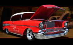 nothing more American than a '57 Chevy Bel Air