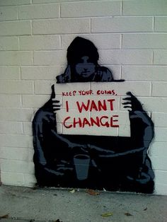 change #graffiti #urban art