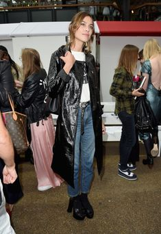 Alexa Chug Is Launching Her Own Fashion Collection: Here are some of Alexa's best style moments (talk about serious style inspiration for days) while saving up all of our cash for when the line is released, hoping some iteration of these looks is included. -- Leather trench coat     coveteur.com