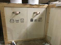 Lockers, Locker Storage, Cabinet, Projects, Furniture, Home Decor, Passive House, Radiators, Wardrobe Design