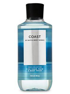 Coast 3-in-1 Hair, Face & Body Wash | Bath & Body Works