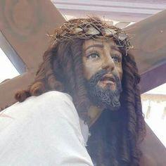 Jesus de Nazareno camino a su muerte. Sonsonate, El Salvador