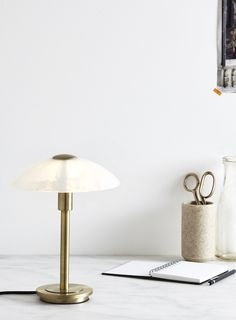 Archie Touch Lamp - Table Lamps - Home, Lighting & Furniture - BHS Touch Lamp, Flat Ideas, Archie, Home Lighting, Antique Brass, Floor Lamp, Light Bulb, New Homes, Lamp Table
