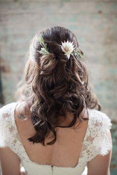 Charming Garden Inspired Vintage Wedding