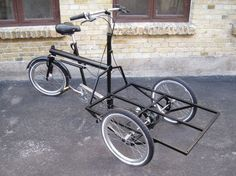 cargo bike pictures | Sorte Jernhest cargo-bike: