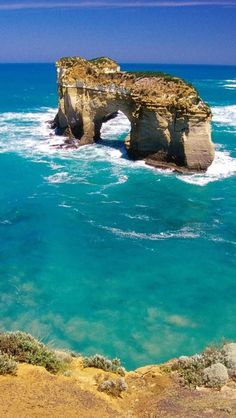 Port Campbell National Park, Melbourne, Victoria, Australia is part of Victoria australia - Sea And Ocean, Ocean Beach, Melbourne Australia, Australia Travel, Places Around The World, Around The Worlds, Victoria Australia, Melbourne Victoria, Amazing Nature