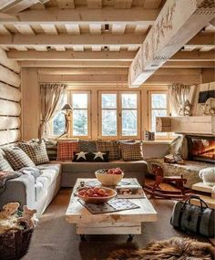49 Gorgeous Rustic Cabin Interior Ideas | Pinterest | Cabin ...