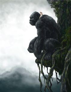 Kong on Skull Island