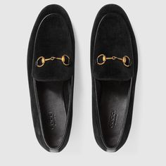 Shop the Gucci Jordaan velvet loafer by Gucci. The Gucci Jordaan loafer is a key silhouette that spans across seasons. A classic shape enriched in plush velvet.