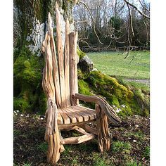 "Driftwood Throne...for when I wish to be ""Outside Royalty""..."