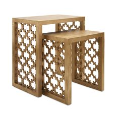 Imax Worldwide Canaberra Nesting Tables Set Of 2 At Lowe S Canada Find Our Selection The Lowest Price Guaranteed With