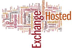 Hosted exchange tag cloud