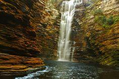 Cachoeira do Buracão em Ibicoara, BA