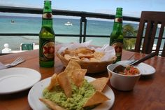 Cozumel Port Stop - Toro's Place $10 for fresh guacamole, two Dos Equis, & nice view.