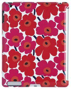 Unikko iPad Cover Red   Kiitos Marimekko