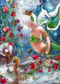 Sea of Hearts Fine Art Print - Robin Pushay
