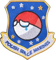Funny story behind this.  Polish Space Marines hihamerkki, täysvärinen, uudenveroinen