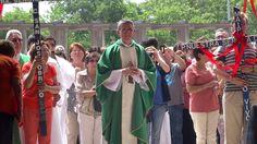 Jubileo Parroquial entrada por la puerta santa Templo Votivo