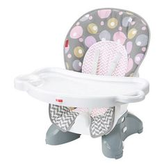 af628dcc4d1b Fisher-Price SpaceSaver High Chair Seat Pad - Brilliant Blush - Walmart.com