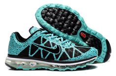 best service cc55e cbc22 Nike Air Max 2012 Mens Shoes Breathable Blue Black cysWI