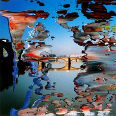 Gerhard Richter Firenze (2000, 12cm x 12cm, Oil on Photo)