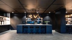 Decor Systems acoustics were used to create a modern space that manages sound effectively, an important element in office design. Modern Spaces, Create, Projects, Inspiration, Design, Decor, Log Projects, Biblical Inspiration, Blue Prints