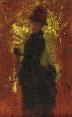 """Leontine,""Giuseppe De Nittis, Undated; View In High Resolution."