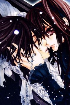 Kaname and Yuki - Vampire Knight Vampire Knight, Yuki And Kaname, Yuki Kuran, Cosplay Pokemon, Manga Anime, Anime Art, Manga Love, Anime Love, Art Koi