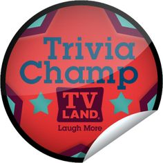 TV Land: Trivia Champ Sticker | GetGlue