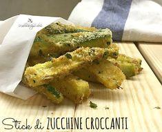 stick di zucchine croccanti