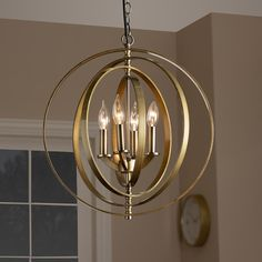 Shop for Contemporary Antique Brass Metal Orb Chandelier - Antique Brass. Get free delivery at Overstock - Your Online Ceiling Lighting Store! Get in rewards with Club O! Globe Chandelier, Lantern Pendant, Chandelier Lighting, Chandeliers, Brass Metal, Antique Brass, Cool Floor Lamps, Globe Lights, Chandelier