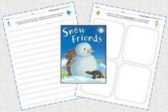 """""""Snow Friends"""" Writing Freebie! - Re-pinned by @PediaStaff – Please Visit http://ht.ly/63sNt for all our pediatric therapy pins"""