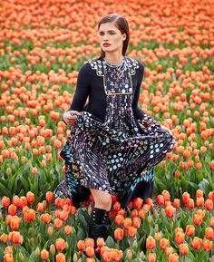 Tiptoe Through The Tulips - ShopBAZAAR