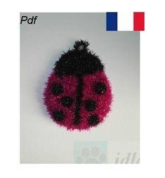 Creative Bubble, Crochet, Bubbles, Poster, Etsy, Ladybug, Tutorials, Projects, Tricot