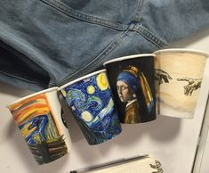 Starry Night Vincent van Gogh & other masters Arte Van Gogh, Van Gogh Art, Art Hoe Aesthetic, Aesthetic Painting, Vincent Van Gogh, Yellow Painting, Make Art, Art Inspo, Art Reference