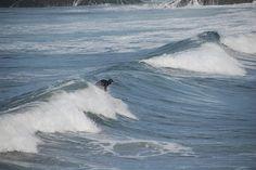 Surfing Rosie Bay - Tofino, Vancouver Island