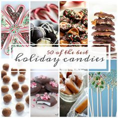 50 of the Best Holiday Candies | A Dash of Sanity