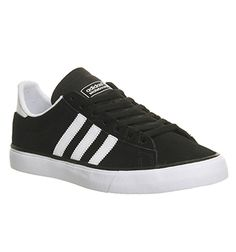 purchase cheap d5451 c5380 Adidas Campus Vulc Ii Black White Gum - Hers trainers