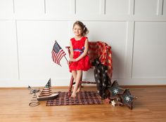 The ultimate 4th of July dress!!!  Check us out at lulaandroo.com  The most versatile dress...The Red Rosette Dress!!! #redrosettedress #4thofjuly #lulaandroo