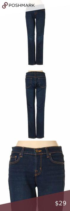 I just added this listing on Poshmark: J Brand Dark Wash Blue Whisker Straight Leg Jeans. Dark Blue Jeans, Blue Denim Jeans, Cropped Jeans, J Brand Jeans, Jeans Brands, Flare Leg Jeans, Jeans For Sale, Skin Tight, Stretch Denim