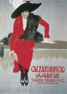 Leopoldo Metlicovitz - Calzaturificio Di Varese Poster Stampa (80x60cm) #5416