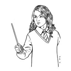 Ginny Weasley Coloring Pages - Costumepartyrun