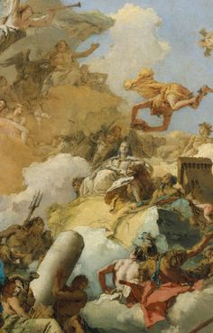 Giovanni Battista Tiepolo Apotheosis of the Spanish Monarchy (sketch for a ceiling painting) Italy (c. 1730s) oil on canvas, 81.6 x 66.4 cm The Metropolitan Museum of Art http://www.metmuseum.org