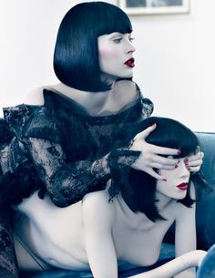 At the end of this photo shoot which took place at the Chateau Marmont in L.A., Megan Fox asked if she could keep the head of the mannequin seen in the story, which was made to look exactly like her, as a souvenir. When the concern was raised that the paparazzi perched outside the hotel might get a picture of her leaving, carrying her own head, Fox didn't blanch.She didn't wring her hands or furrow her brow. She just threw her head in a shopping bag and went on her way.