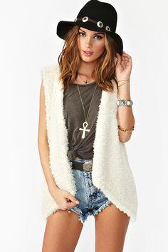 Sienna Faux Fur Vest