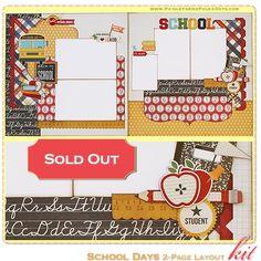 Précédent Scrapbook Kits mini album Minibook artisanaux en papier Projets de Paisleysandpolkadots.com mensuel Projet Kit club