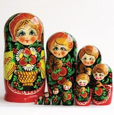 Matryoshka (M10 pieces) 25 cm high