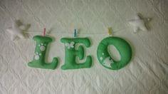 Nombre de fieltro: LEO.